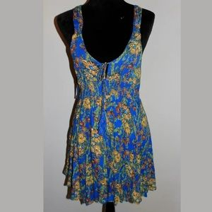 Free people Blue floral sundress-Small